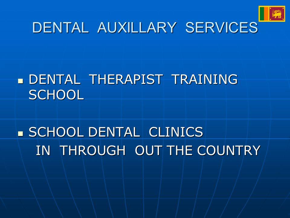 DENTAL AUXILLARY SERVICES DENTAL THERAPIST TRAINING SCHOOL DENTAL THERAPIST TRAINING SCHOOL SCHOOL DENTAL CLINICS SCHOOL DENTAL CLINICS IN THROUGH OUT THE COUNTRY IN THROUGH OUT THE COUNTRY
