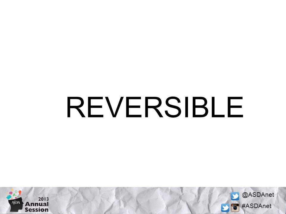 @ASDAnet #ASDAnet REVERSIBLE