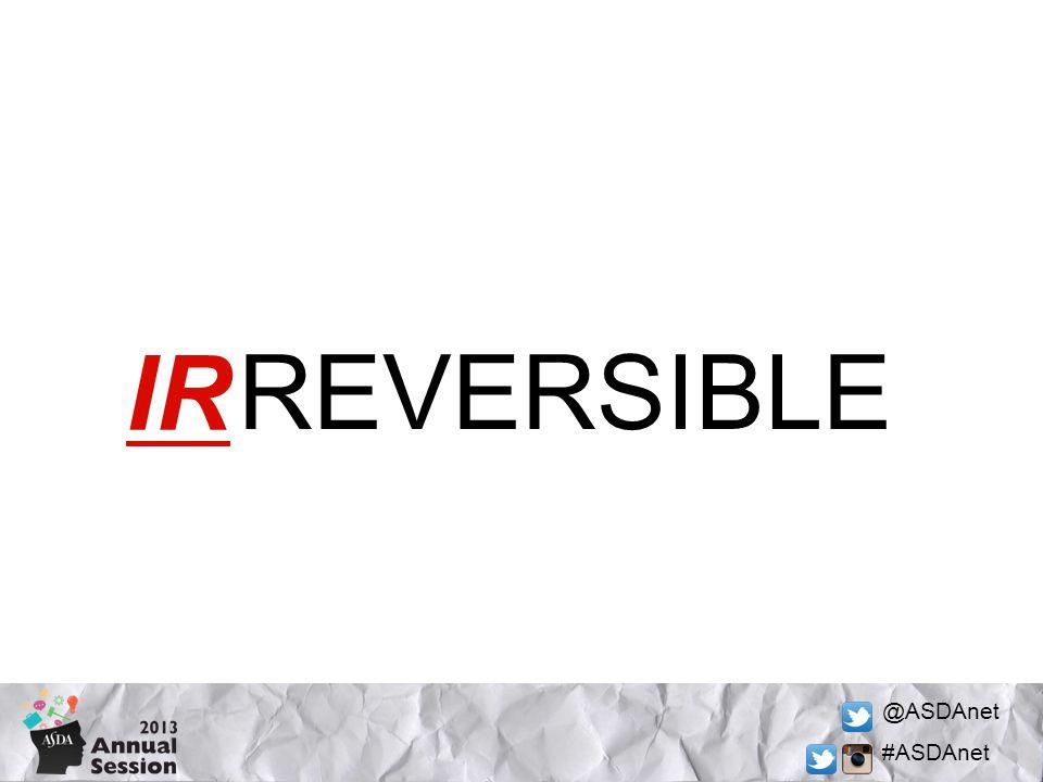 @ASDAnet #ASDAnet REVERSIBLE IR