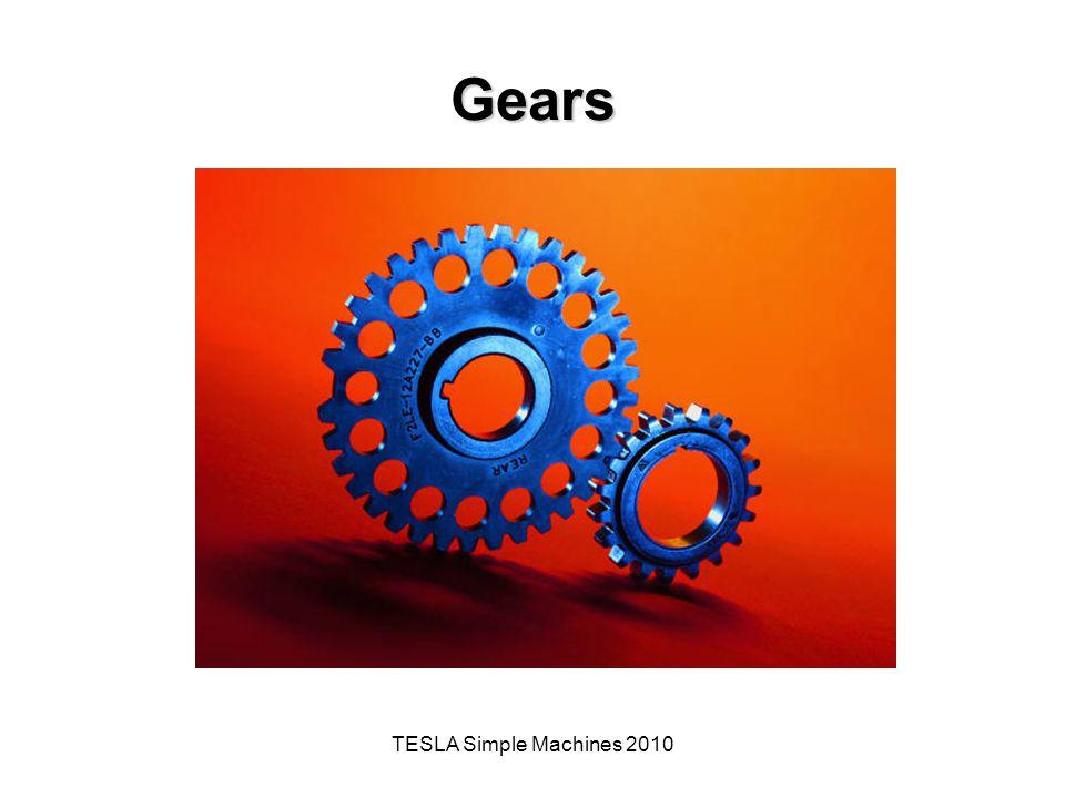 TESLA Simple Machines 2010 Gears