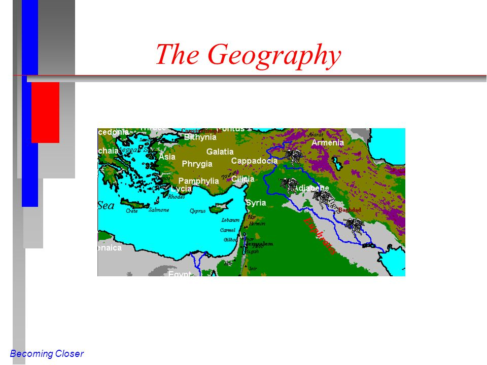 Becoming Closer The Geography