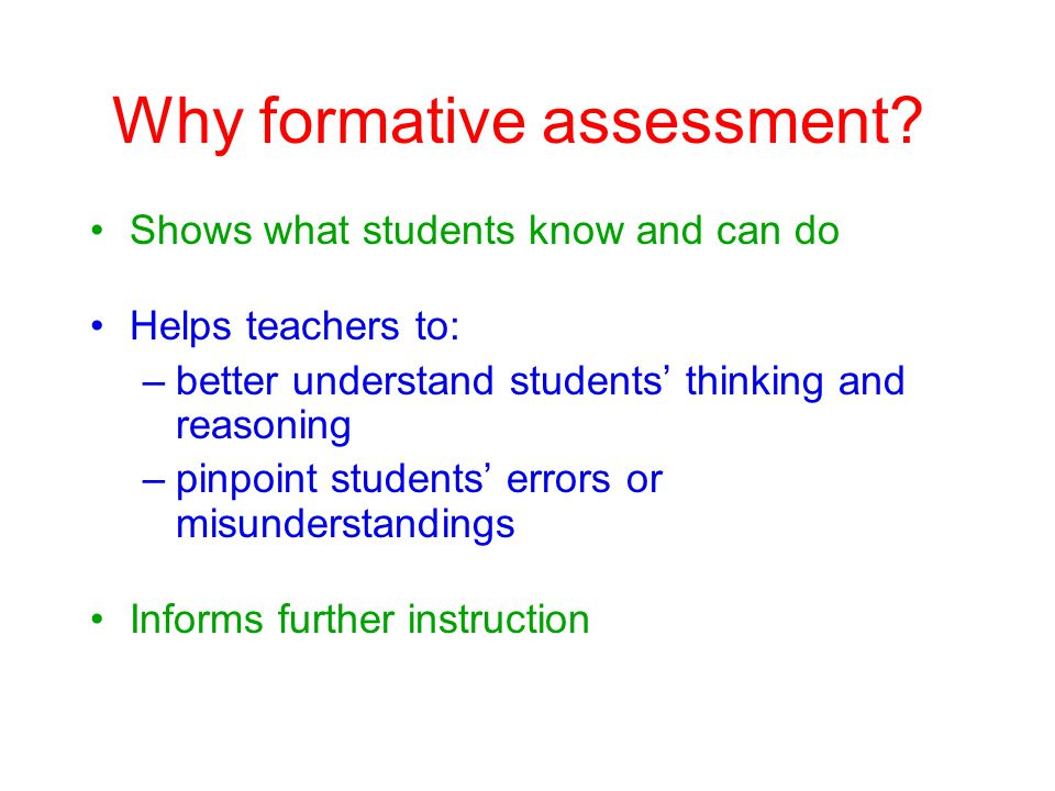 Formative assessment: How? Inquiry style discussion Routine check-ins Headline Stories!
