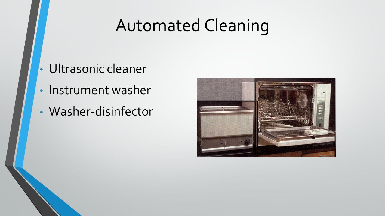 Automated Cleaning Ultrasonic cleaner Instrument washer Washer-disinfector