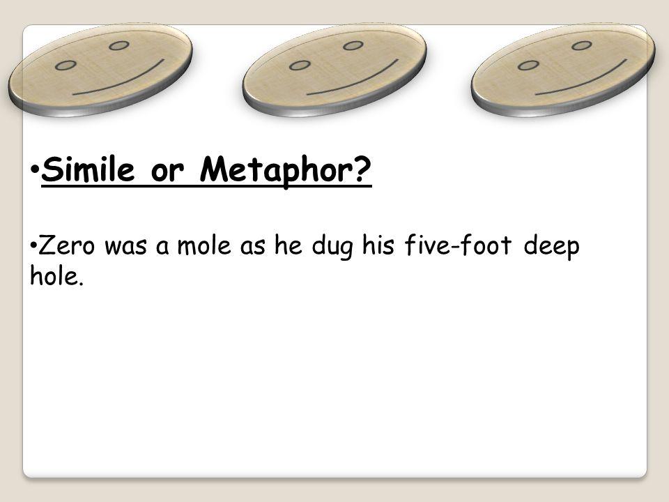 Simile or Metaphor.
