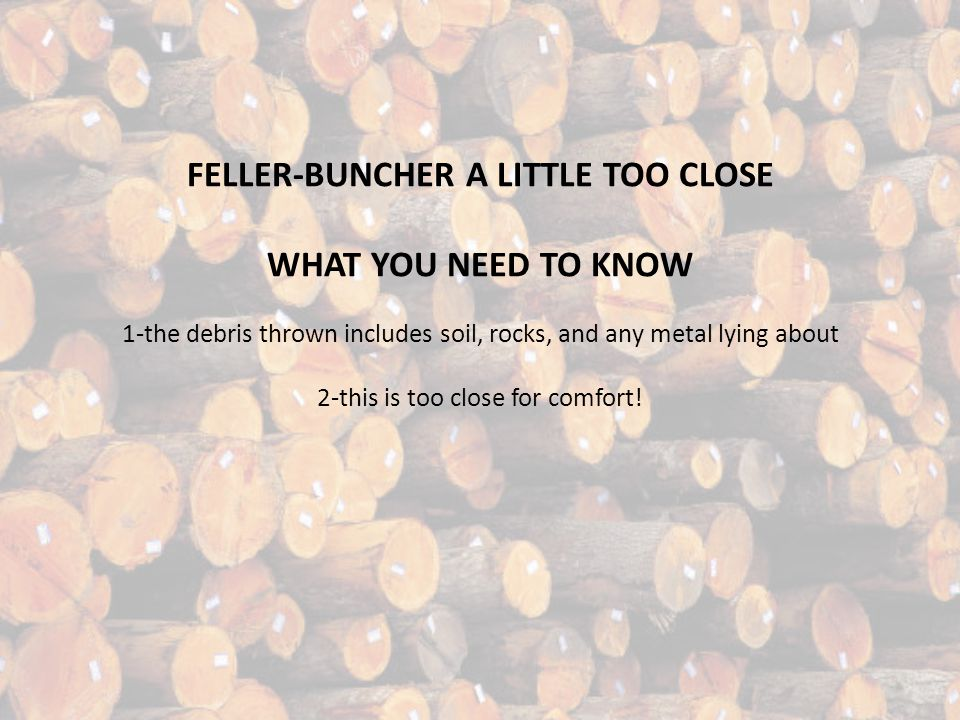 ABOUT The De-LIMBER The delimber is a device that grabs logs and removes the branches.