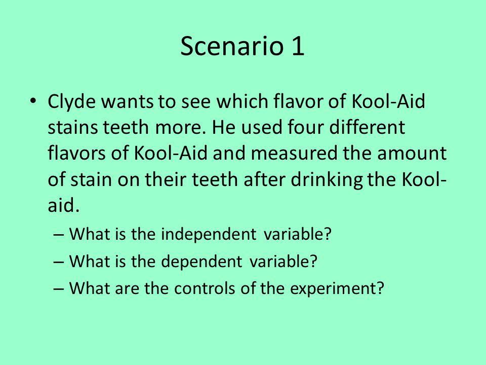 Scenario 6 Answers IV- fertilizer vs none.