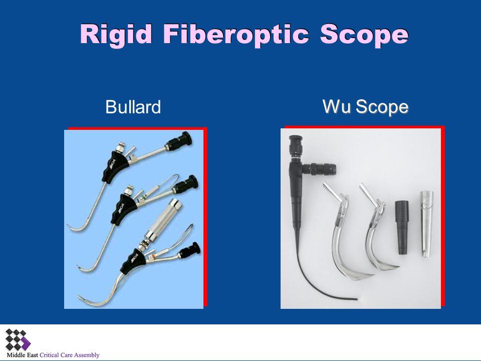 Rigid Fiberoptic Scope Bullard Wu Scope