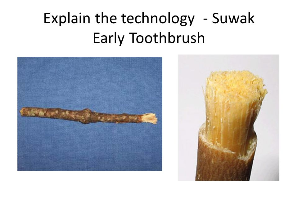 Explain the technology - Suwak Early Toothbrush