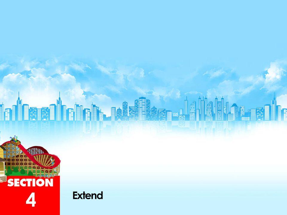 4 Extend