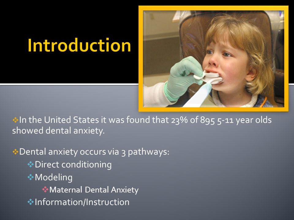 American Academy of Pediatric Dentistry: voice control, distraction and social learning theory