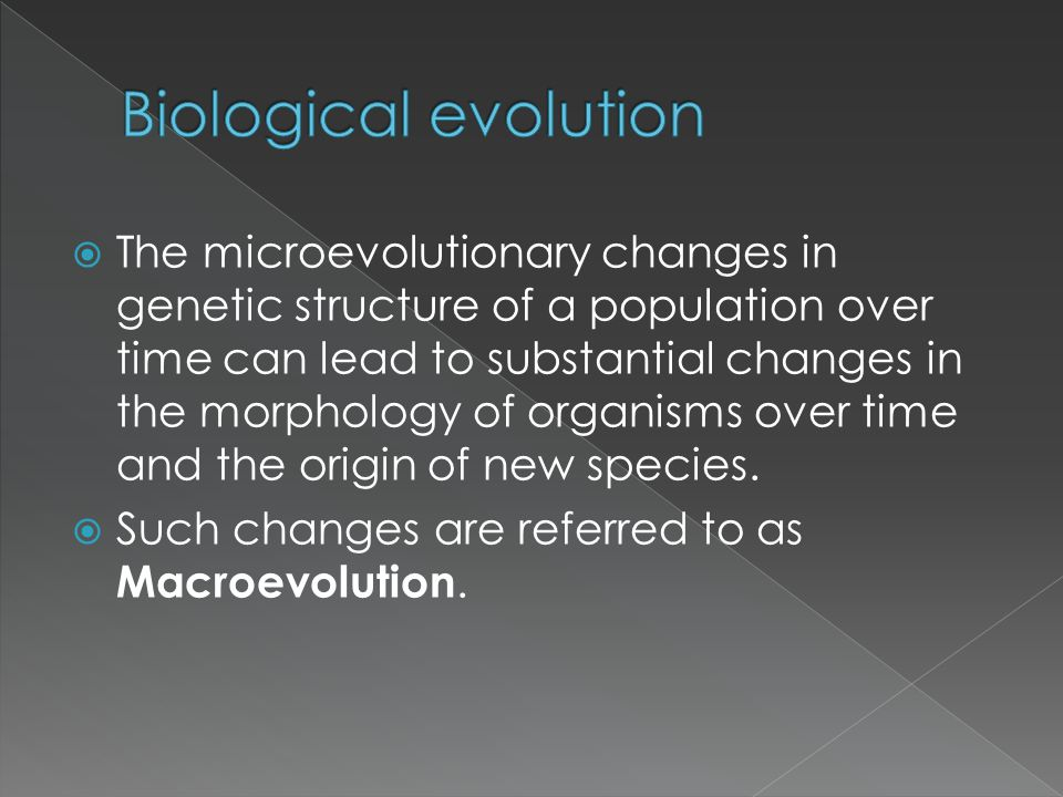 Evolution explains the diversity of life.