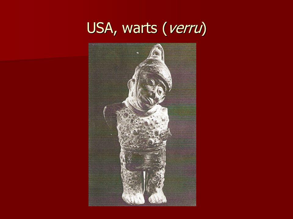USA, warts (verru)