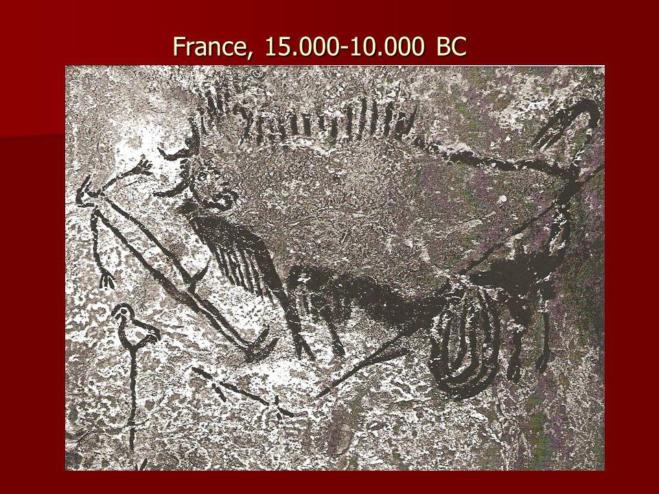 France, 15.000-10.000 BC