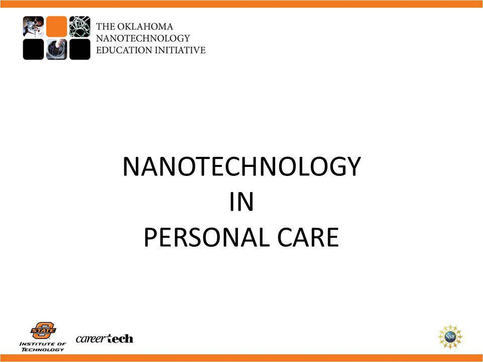 This module is one of a series designed to introduce faculty and high school students to the basic concepts of nanotechnology.