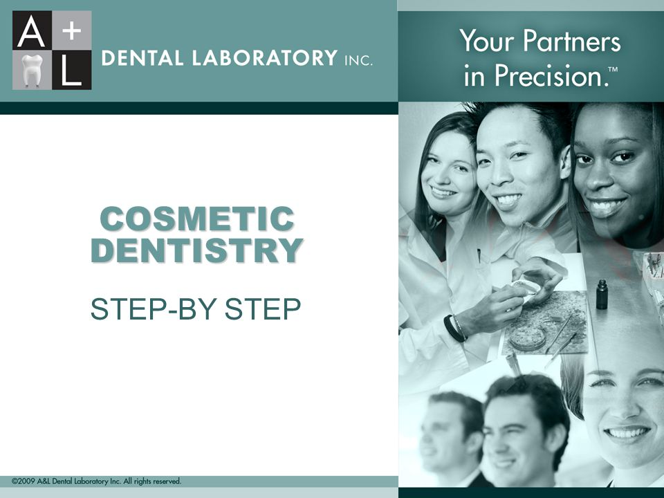 COSMETIC DENTISTRY STEP-BY STEP