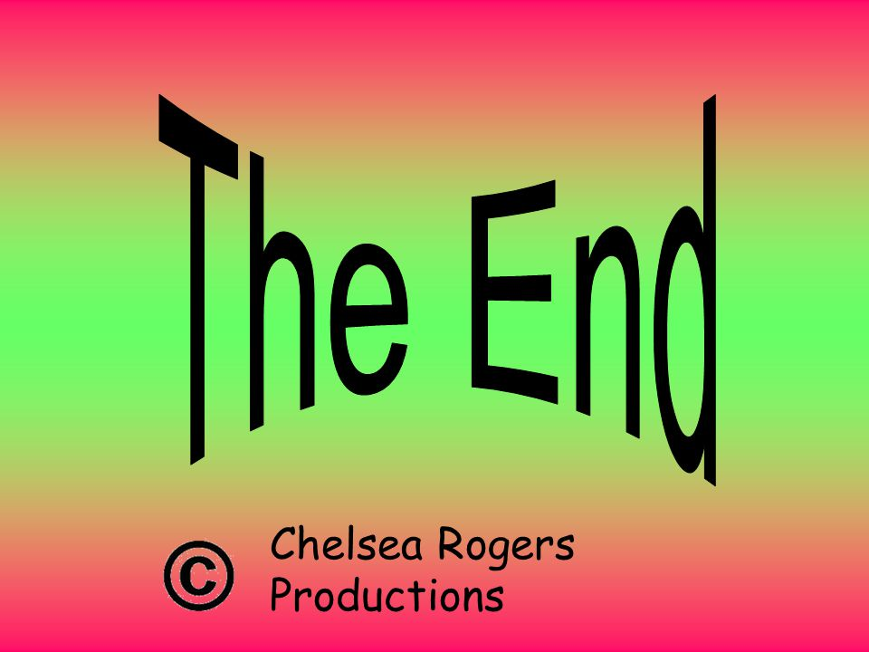 Chelsea Rogers Productions Established 1987