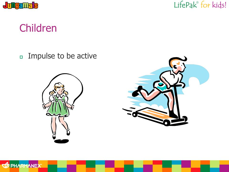 Children Impulse to be active