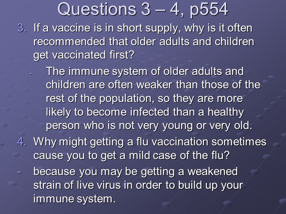Question 5, p554 5.People infected with HIV (the virus that causes AIDS) can become unable to fight off infections by organisms that normally do not harm people.