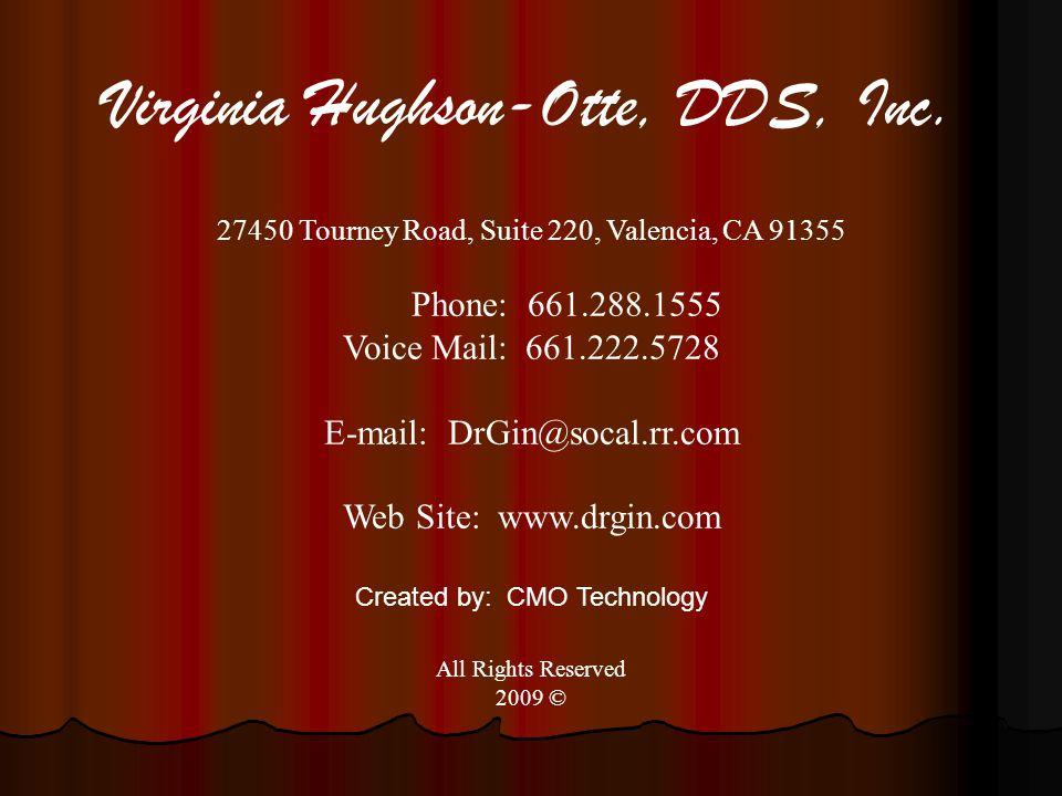 Virginia Hughson-Otte, DDS, Inc.