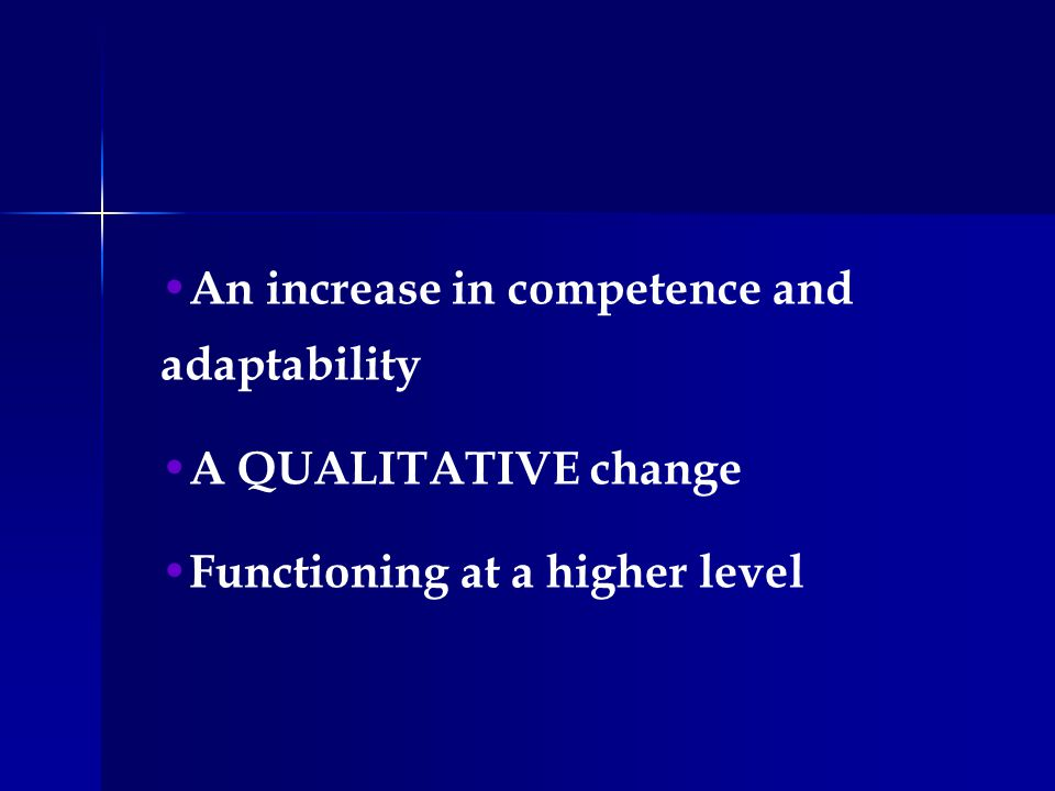 BEHAVIOR DEVELOPMENT Four Attributes Gross motor Fine motor Language Personalsocial skill