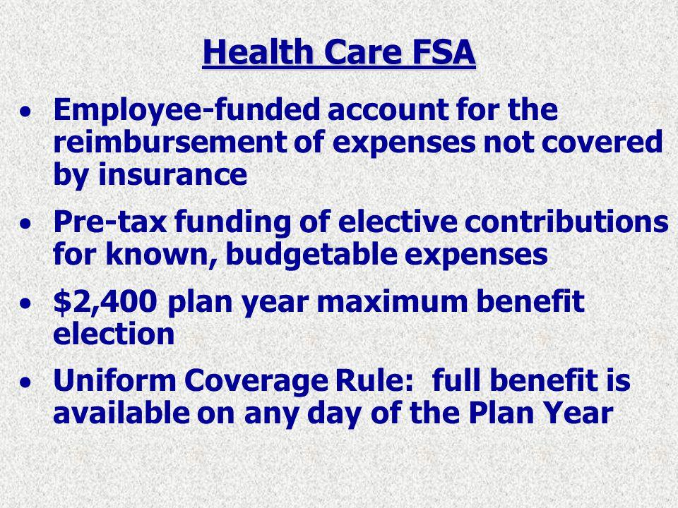 Health Care FSA Claims Administrator: Creative Benefits, Inc.