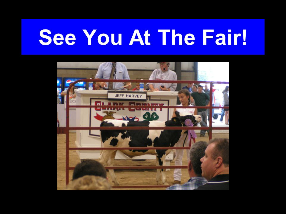See You At The Fair!