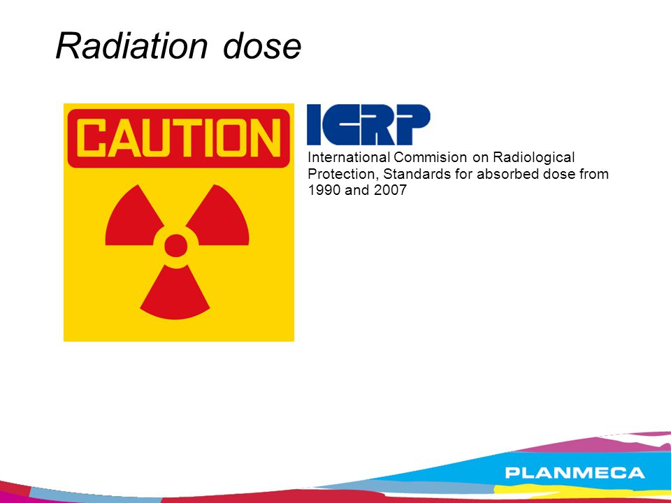 Radiation dose International Commision on Radiological Protection, Standards for absorbed dose from 1990 and 2007