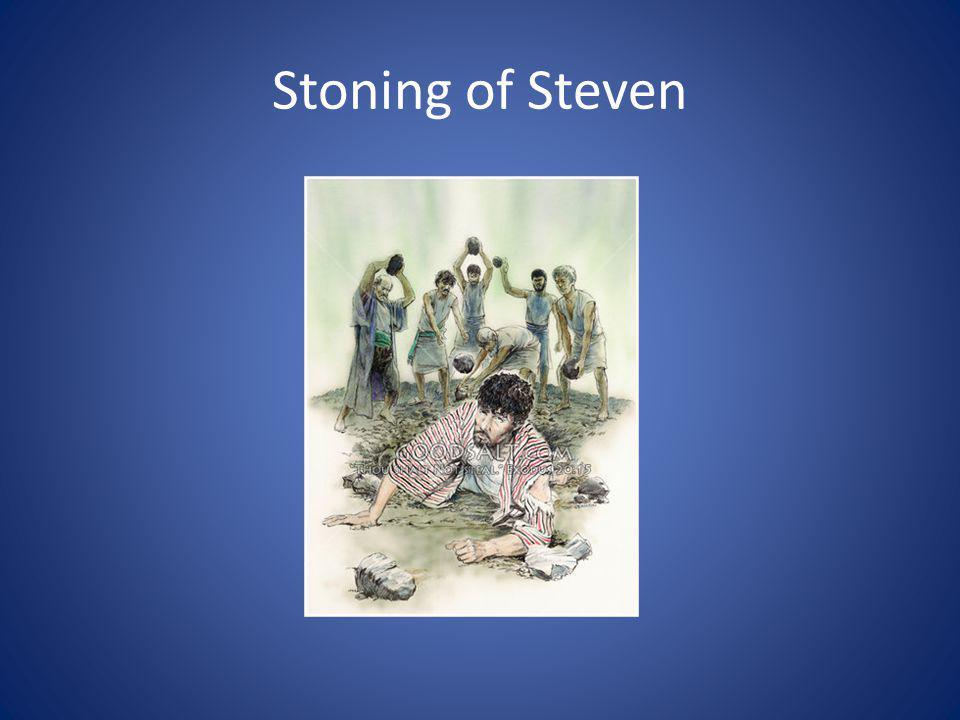 Stoning of Steven