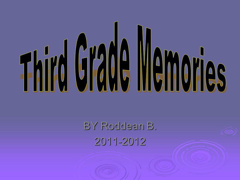 BY Roddean B. 2011-2012