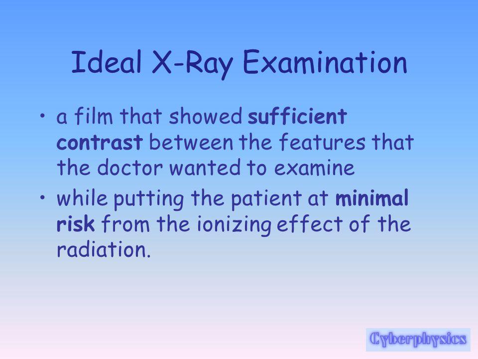 X Rays Medical Physics Notes