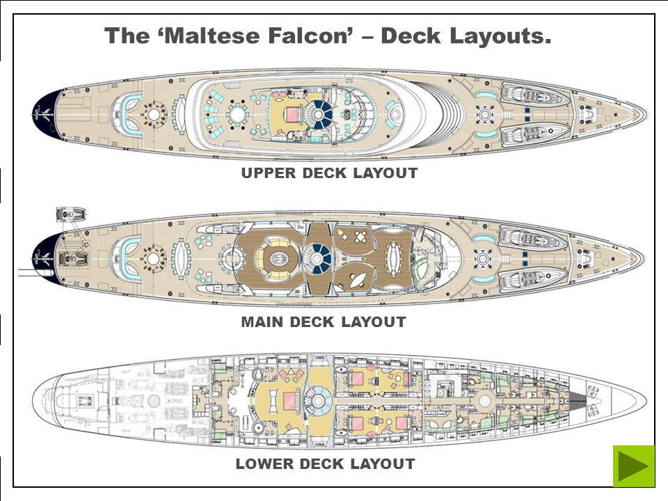 The Maltese Falcon: Elevation and Dynarig Sail Plan The Maltese Falcon: Elevation and Sail Plan