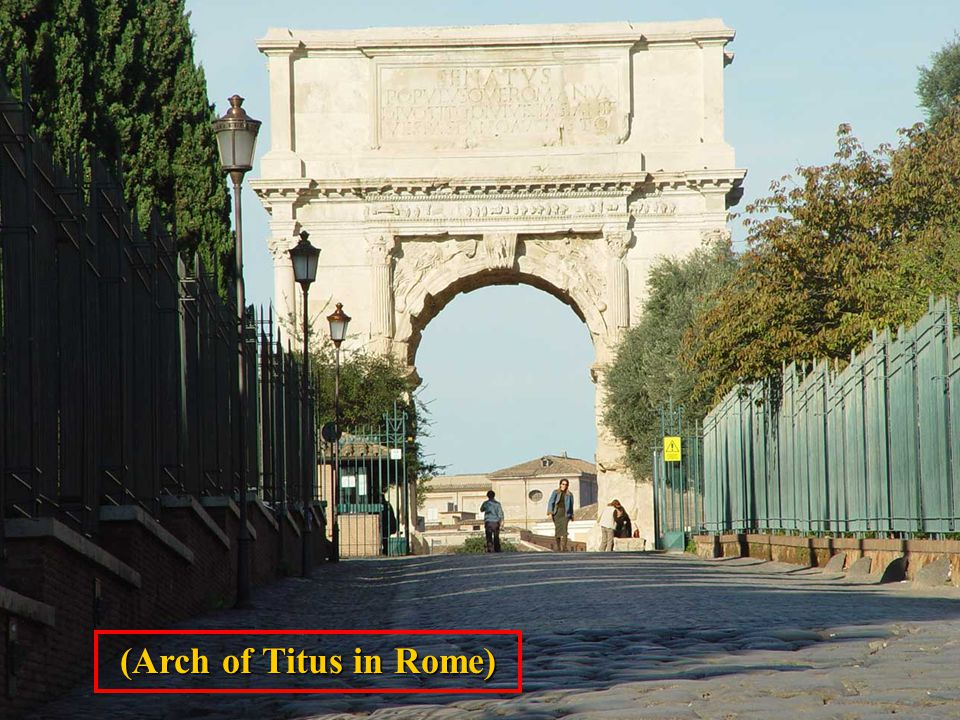 (Arch of Titus in Rome)