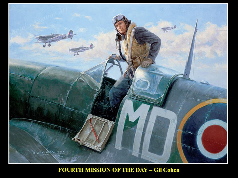 FOURTH MISSION OF THE DAY – Gil Cohen Flight Lieutenant Donald J.