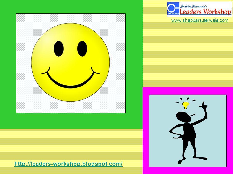 http://leaders-workshop.blogspot.com/ www.shabbarsuterwala.com Keep Smiling