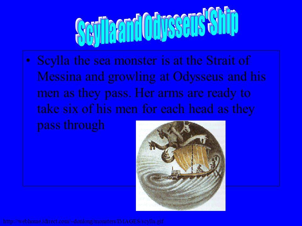 Scylla and Cyclops Modern Art http://www.transrealart.com/selection03/odyssey/source/18.html http://www.transrealart.com/selection03/odyssey/source/17