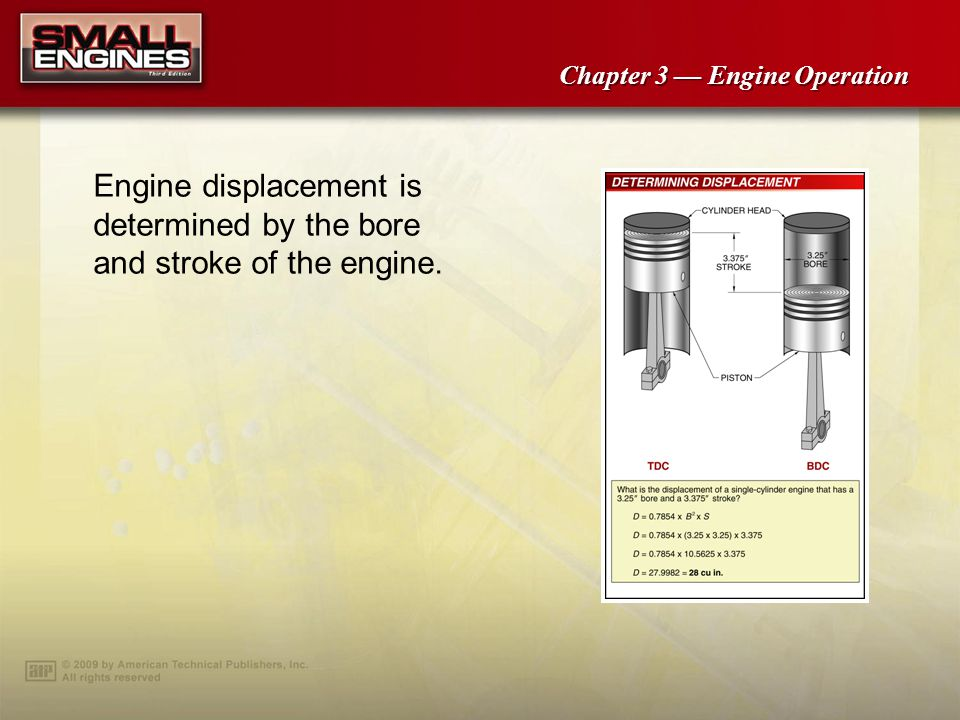 Chapter 3 Engine Operation Two-stroke valves are widely used in the outdoor power equipment industry for hand-held equipment applications such as chain saws, trimmers, and leaf blowers.
