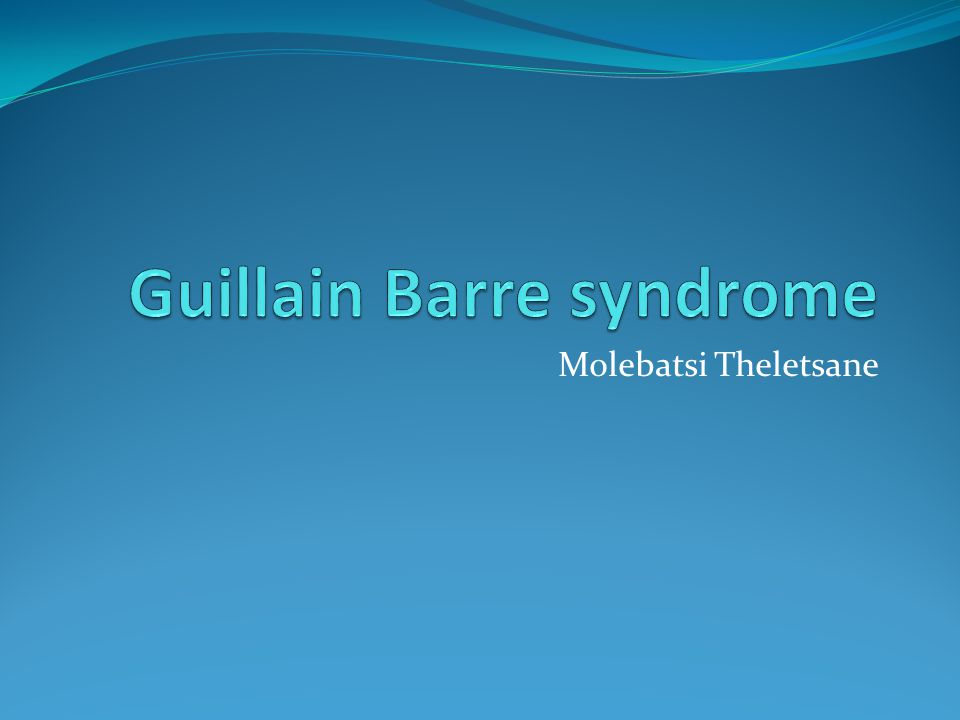 Guillain Barre Syndrome (GBS) is a serious disorder that occurs when the bodys defense (immune) system mistakenly attacks part of the nervous system.