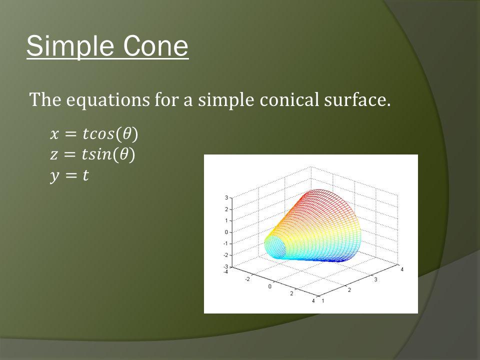 Simple Cone