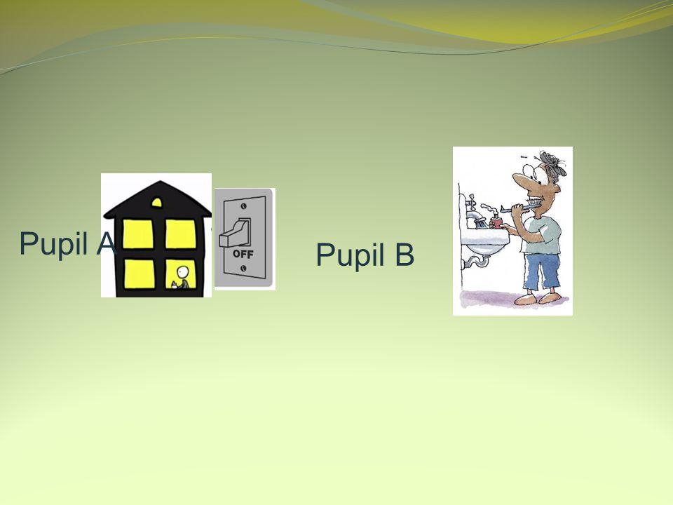 Pupil A Pupil B