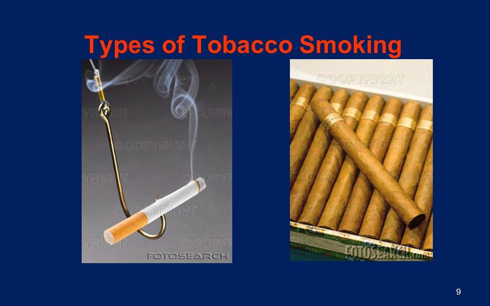 9 Types of Tobacco Smoking