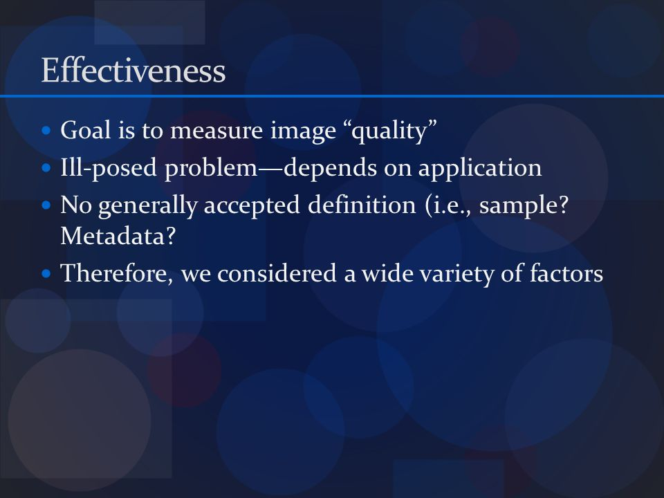 Measurable Qualitative Attributes for Iris Images Location of reflections Glasses Focus Visible Iris Image scale Noise Image Orientation Camera type