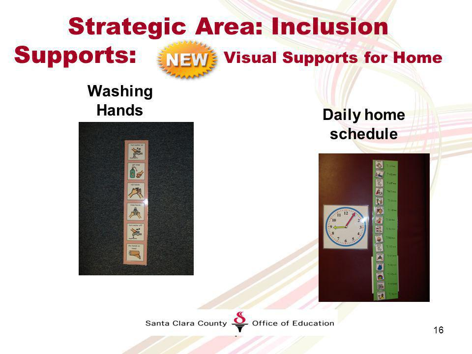 Strategic Area: Inclusion Supports: Inclusion Support Warm Line Impact Thank you. I really appreciate all of your help and advice. What a huge help yo