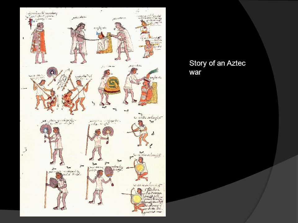 Story of an Aztec war