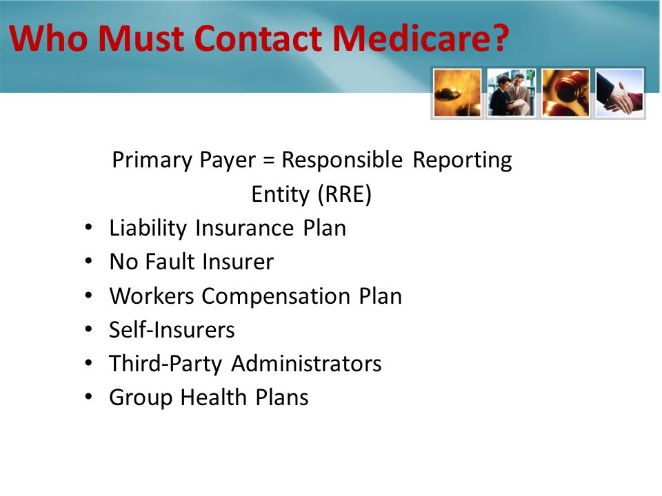 Who Must Contact Medicare.