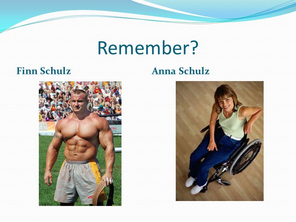 Remember? Finn Schulz Anna Schulz