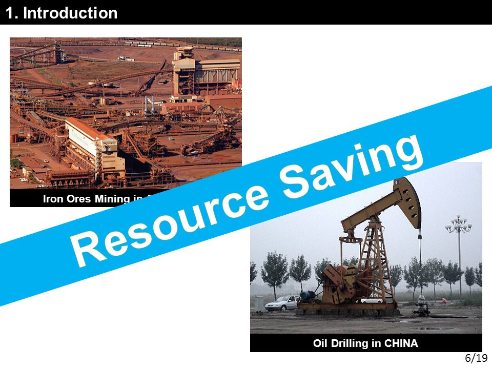 1. Introduction Iron Ores Mining in AUSTRALIA Oil Drilling in CHINA 6/19