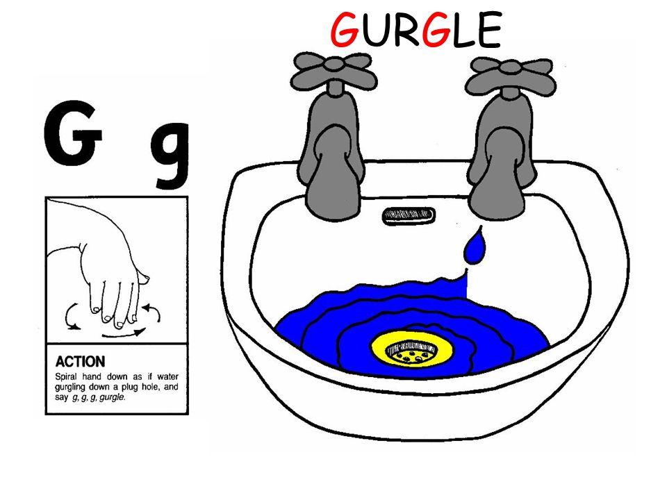 GURGLE