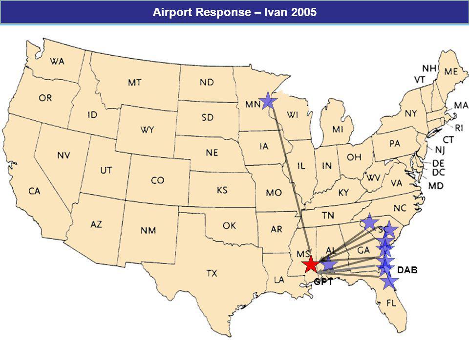 GPT DAB Airport Response – Ivan 2005