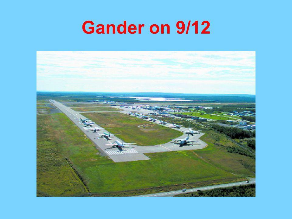 Gander on 9/12