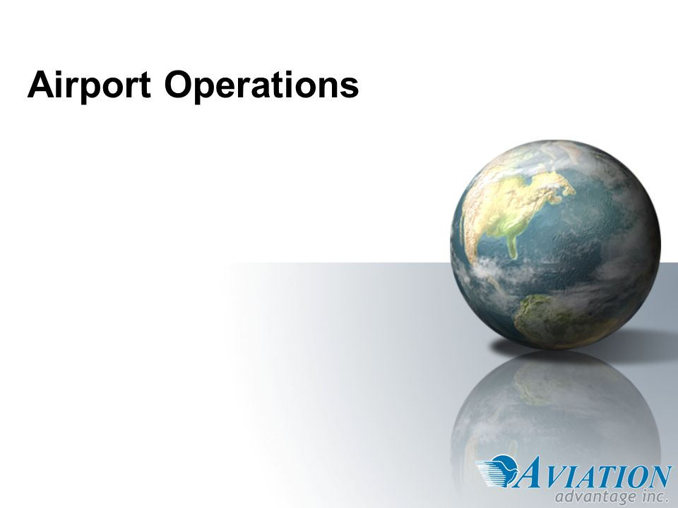 Overview 1.Airline Representation 2.Passenger Services 3.Ground Services.